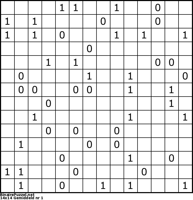 binairepuzzel